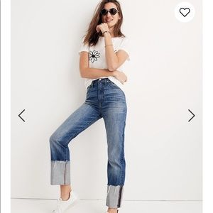 Madewell Straight Crop Jean
